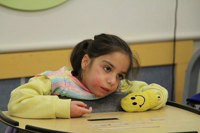 Eén van de prinsesjes van ALEH Negev.