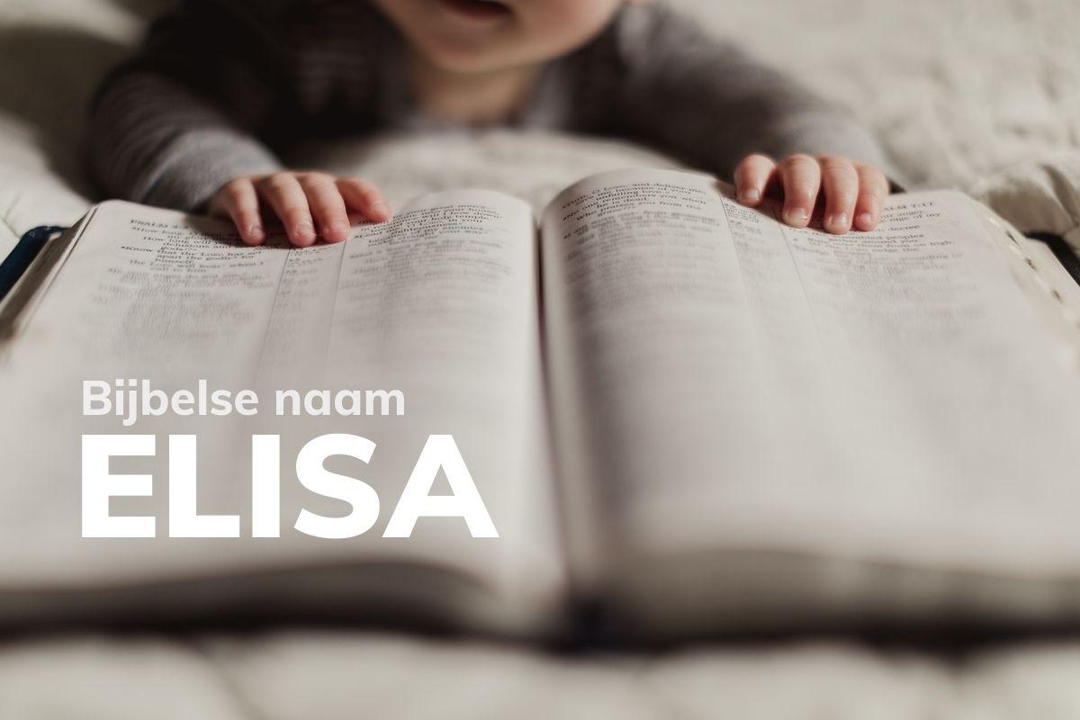 Bijbelse naam Elisa