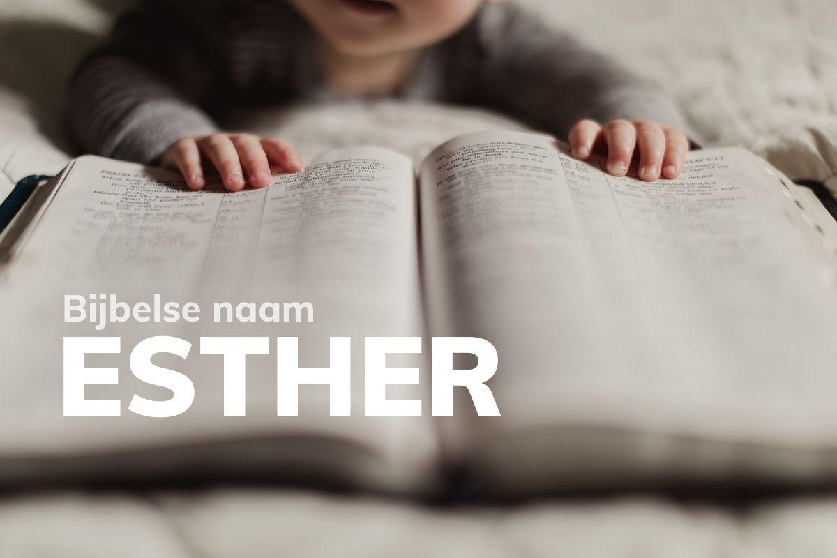 Bijbelse naam Esther