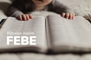Bijbelse naam Febe