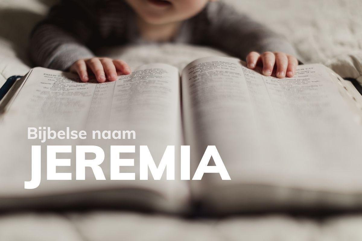 Bijbelse naam Jeremia
