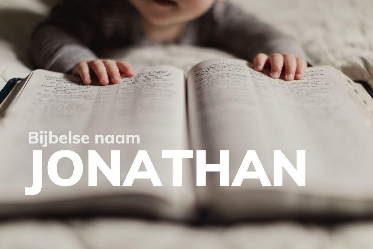 Bijbelse naam Jonathan