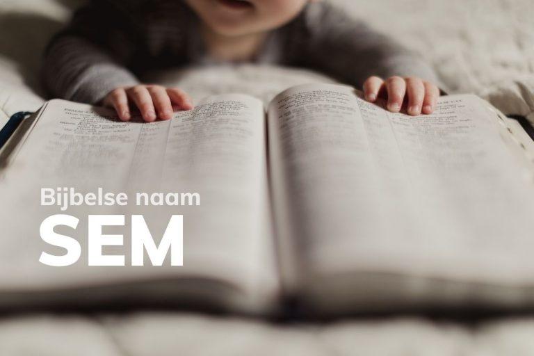 Bijbelse naam Sem