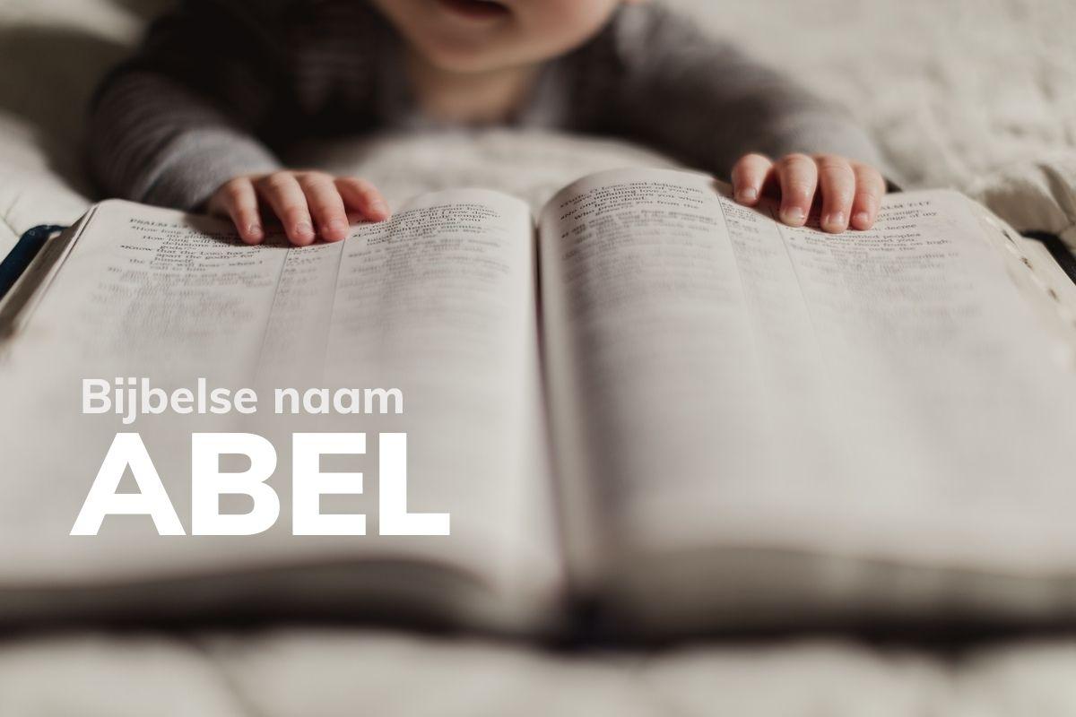 Bijbelse naam Abel