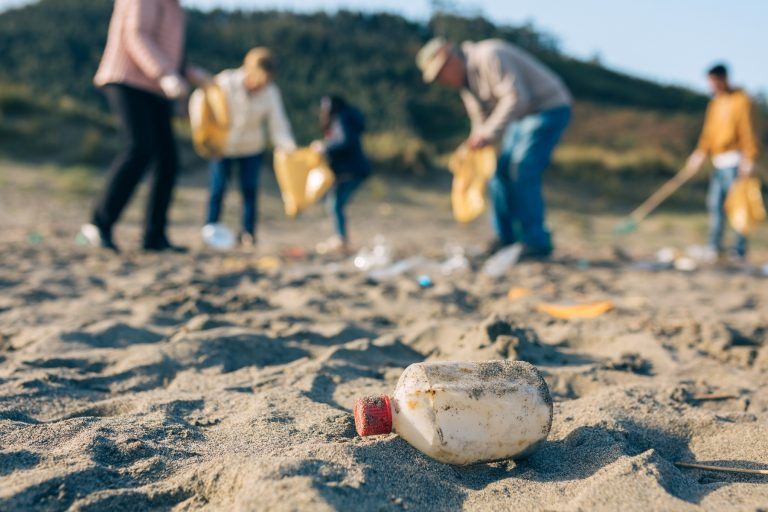 Wereldrecord strand opruimen Israël
