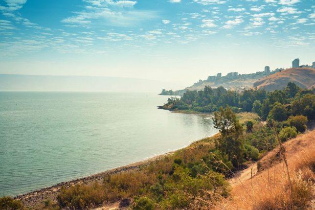 Bijbelse plaatsen - het meer van Galilea