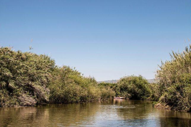 Bijbelse plaatsen - rivier de Jordaan