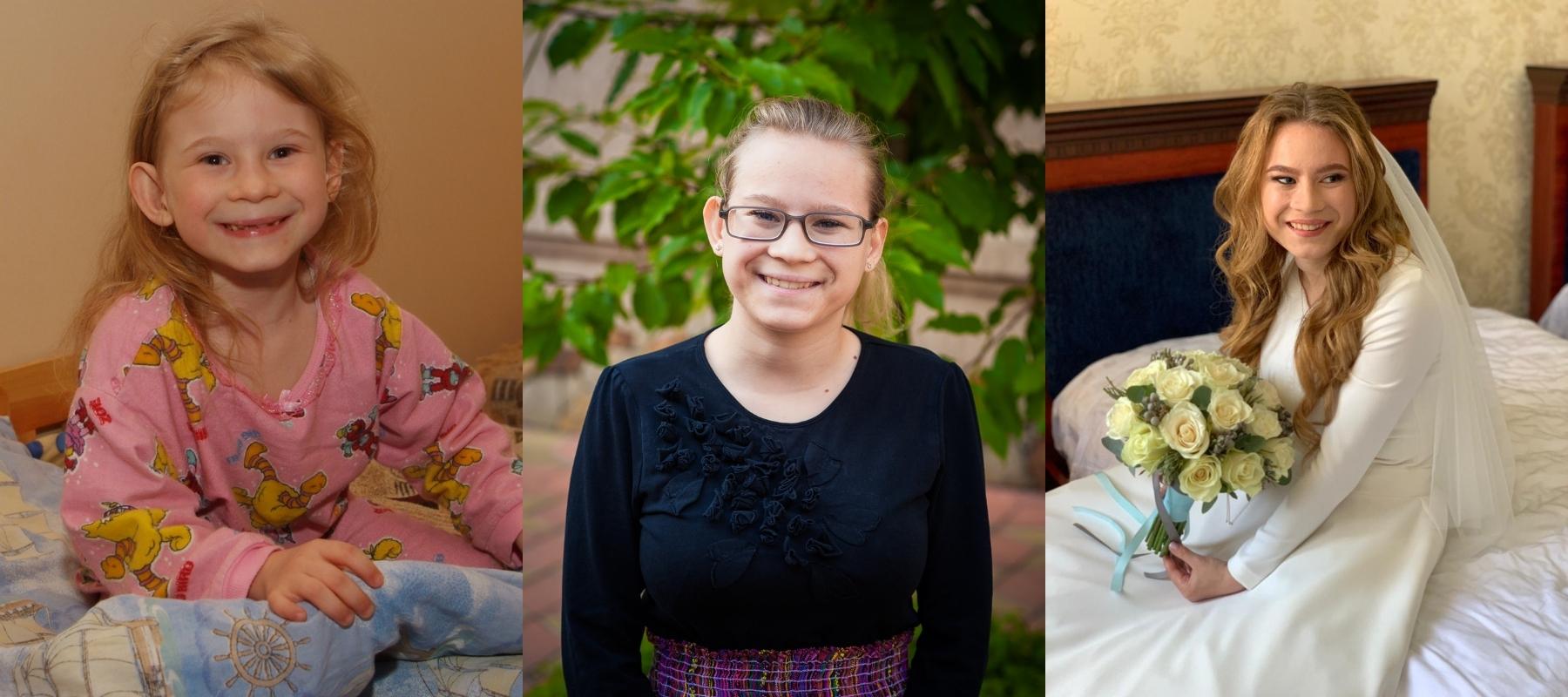 Joods weesmeisje Vera Oekraïne getrouwd