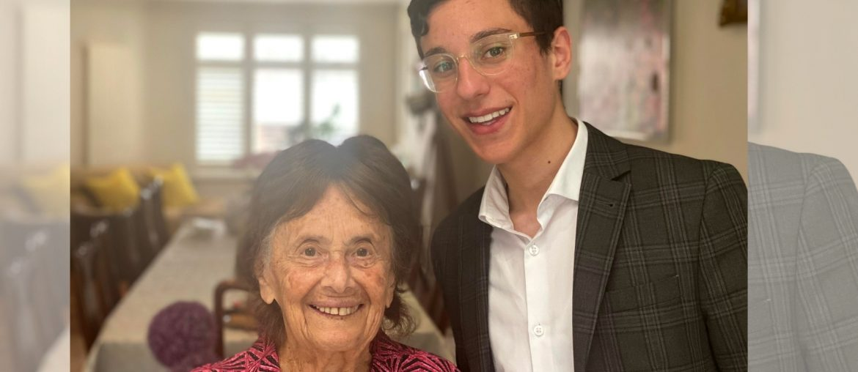 97jarige holocaustoverlevende gaat viral op tiktok