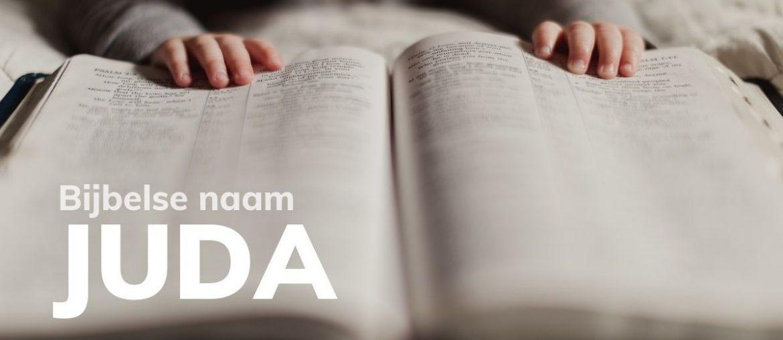 Bijbelse naam Juda
