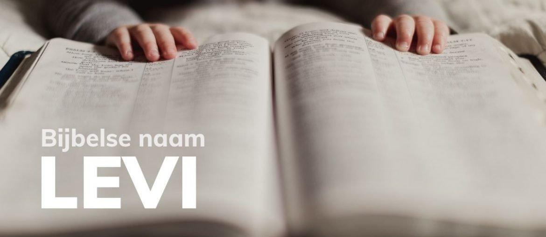 Bijbelse naam Levi