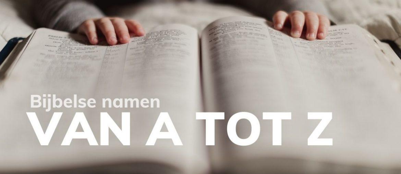 Bijbelse naam