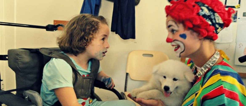 Clown lachen