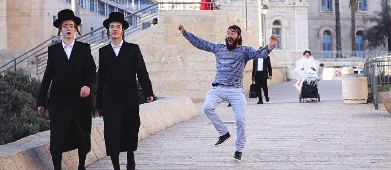 Dansen in Jeruzalem