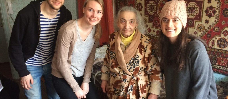 Op bezoek bij Lydia (88 jaar)