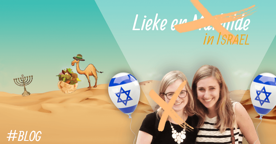 Lieke in Israel