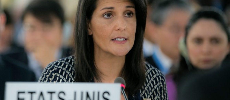 Ambassador Nikki Haley Addresses the U.N. Human Rights Council