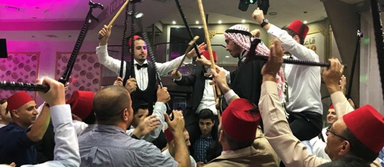 Palestijnse bruiloft