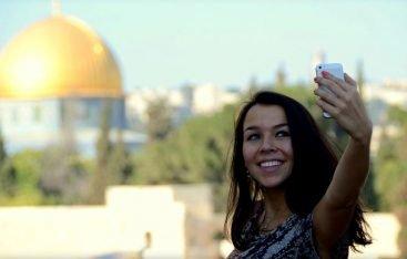 Selfie in Jeruzalem