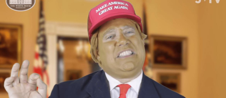 Trump chanoeka