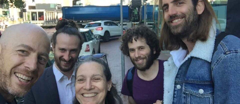 De Israëlische band Zan Nadir.