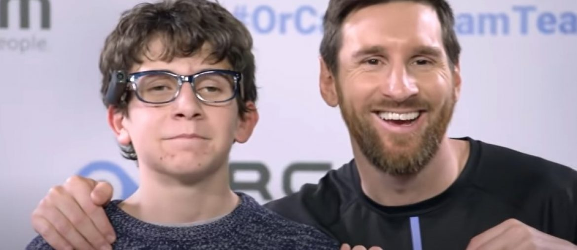 Messi and OrCam